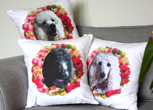 Personalised Dog Cushion Covers