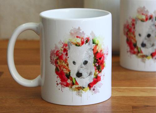 Pet Portrait Mugs