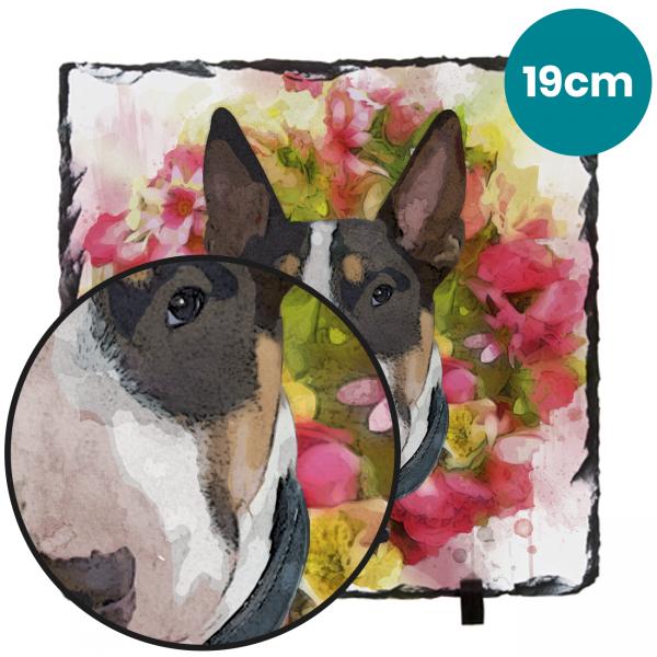 19cm Pet Portrait Photo Gifts Slate