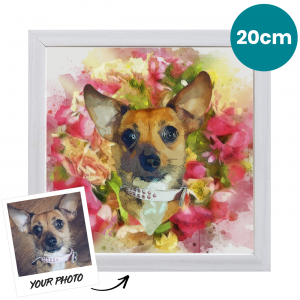 20cm Pet Portrait Fine Art Print