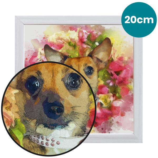 20cm Pet Portrait Fine Art Print