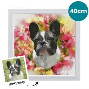 40cm Pet Portrait Fine Art Print