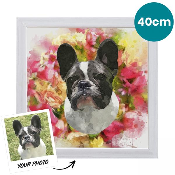 40cm Pet Portrait Fine Art Print