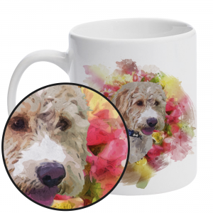 Personalised Pet Portrait Mug
