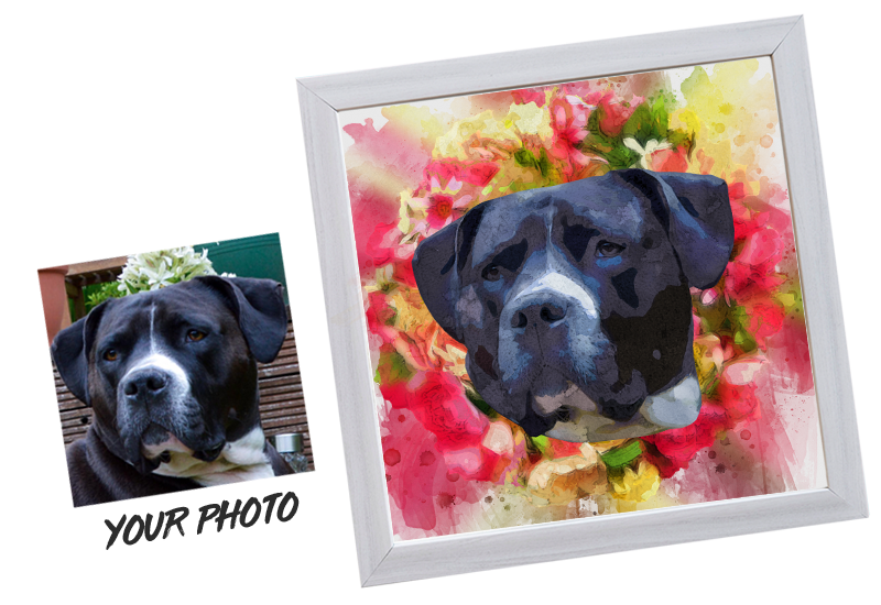 Personalised Pet Portrait Print