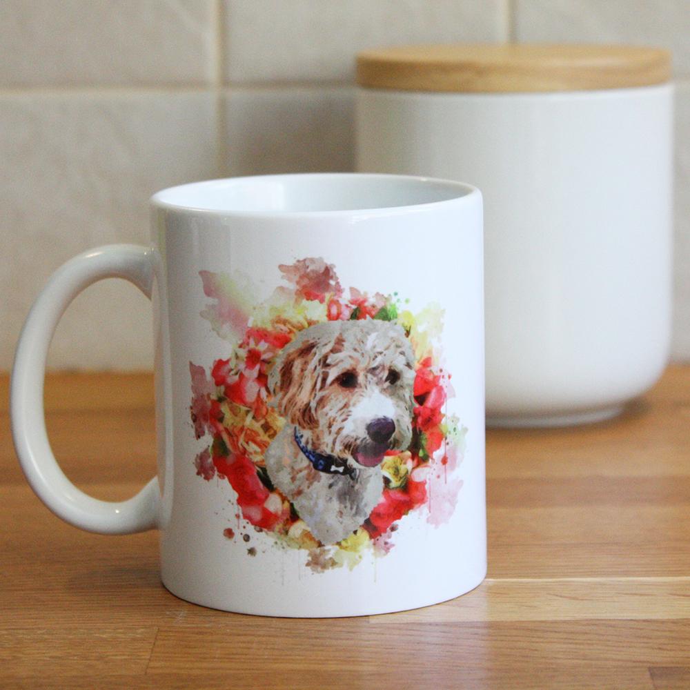 Pet Portrait Personalised Mugs