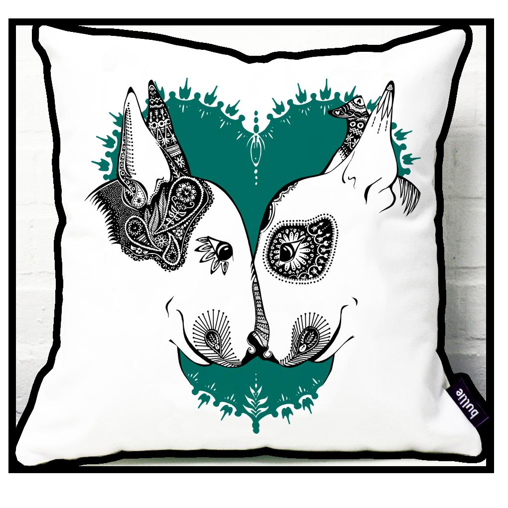 English Bull Terrier Cushion Cover