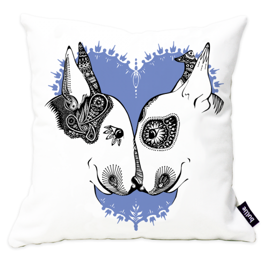 English Bull Terrier Cushion Cover