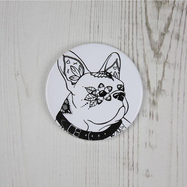 French Bulldog Ceramic Coaster