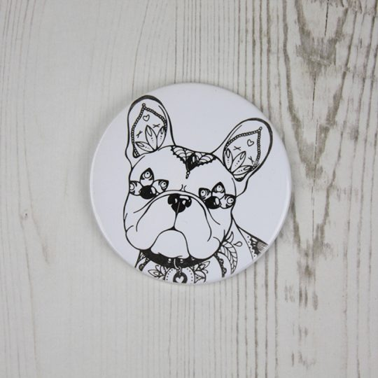 French Bulldog Ceramic Coaster